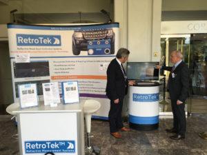 Joe-presents-RetroTek-retroreflectometer-delegate-ERF-road-safety-conference-malta-2017