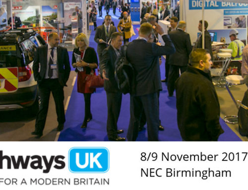 Highways UK, Roads for a Modern Britain, NEC Birmingham – 8th & 9th November 2017