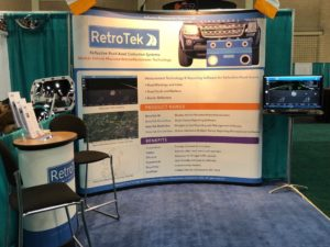 RetroTek stand at the ATSSA Annual Convention 2018