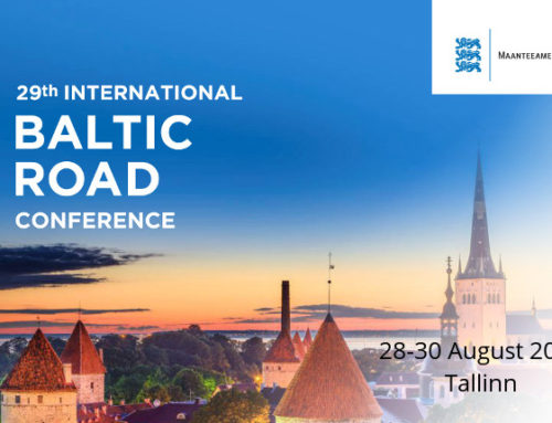 29th International Baltic Road Conference, Tallinn – 28-30 August 2017