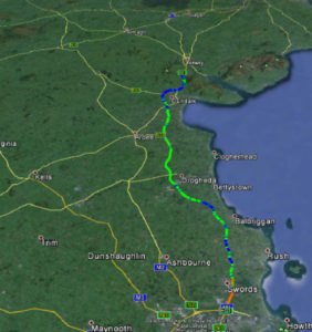 reflective-road-assets-survey-results-plotted-google-earth