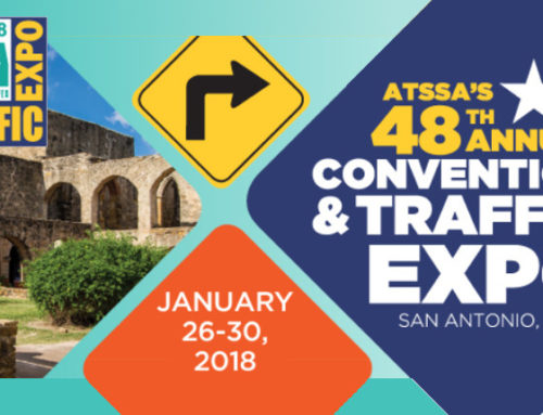 ATSSA'S 48th Annual Convention & Traffic Expo, San Antonio, Texas – January 26-30, 2018