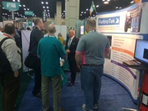 RetroTek stand busy with delegates at ATSSA