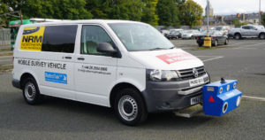 RetroTek-M-attached-VW-Trasnporter-Northern-Road-Markings
