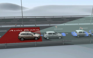 visual of collision warning systems