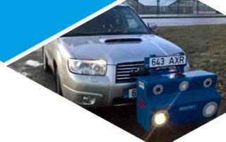 Retrotek-M-attached-vehicle-surveying-roads-estonia