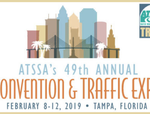 ATSSA's Annual Convention & Traffic Expo, 8-12 February 2019, Tampa Florida