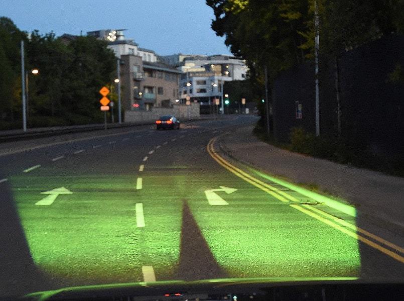 Mobile Retroreflectometer Road View