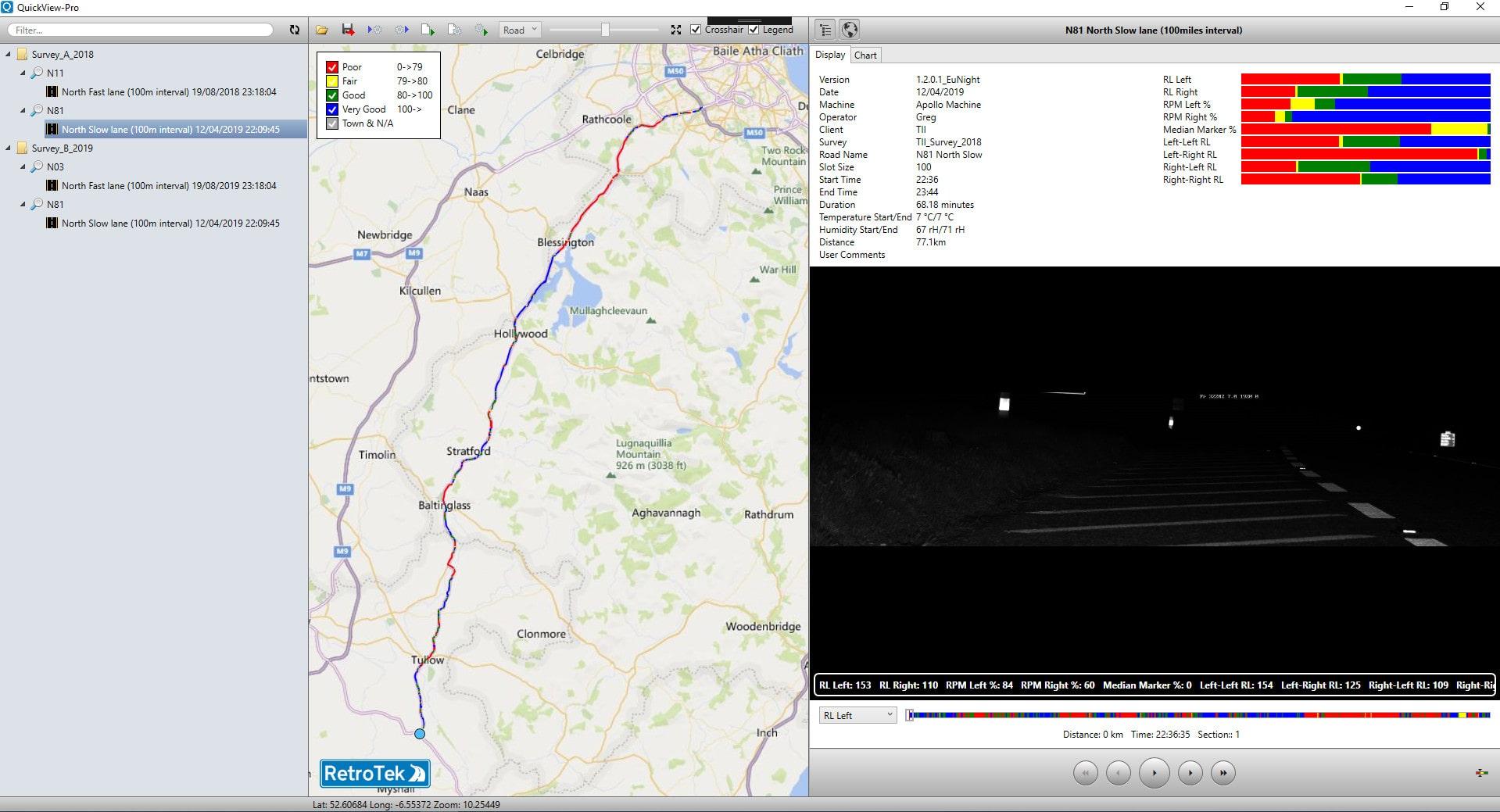 Quickview Pro Retroreflectometer Demo Image