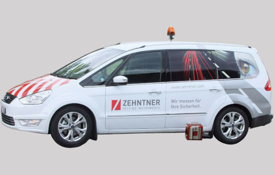 Zehntner Retroreflectometer vehicle